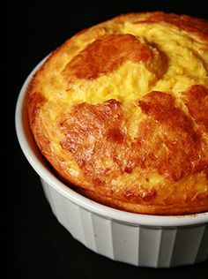 Easy Cheese Souffle - Gluten Free!
