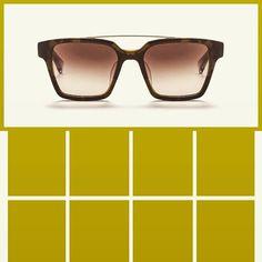 Sunglasses AM Eyewear KINGSTON-GREEN HAVANA. Handcrafted ITALIAN acetate frame…