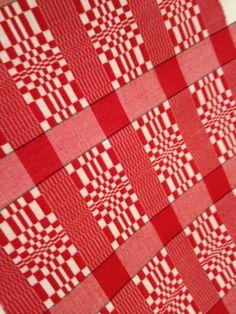 Monks belt pattern in 16/2 cotton