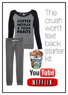 """The crush wont text back starter kit. // Naomi"" by random-girls123 ❤ liked on Polyvore"