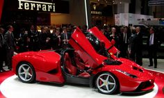 First look to LaFerrari at the Geneva Motor Show 2013
