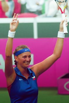 """Petra Kvitova, the two-time Championships at Wimbledon Champion, named a Global Athlete Ambassador for Right To Play. PETRA: """"I'm so excited to be a Global Athlete Ambassador for Right To Play,"""" ... """"It's a charity whose work I really believe in - giving children the opportunity to learn through sport is a cause that's very close to my heart."""""""