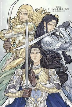Glorfindel, Ecthelion and Turgon - choistar