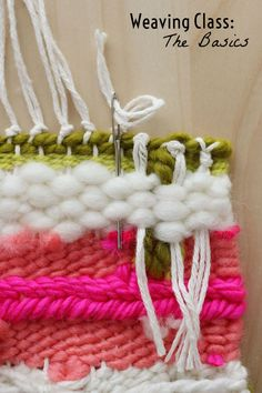 Weaving Tutorial | Woven Wall Hanging by @elsiecake