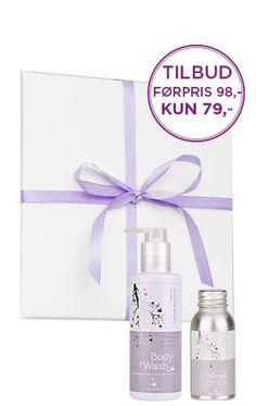 Body Wash & Face oil kun kr. 79,-