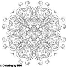 Heart Mandala Coloring Page 326 #coloring #coloringforadults #pattern #模様 #design #ぬりえ #大人の塗り絵 #おとなのぬりえ #art #アート #illustration #coloriage #コロリアージュ #heart #coloringpages #zentangle #ゼンタングル #mandalas #kaleidoscope #万華鏡 #ハート  #曼荼羅 #mandalaart