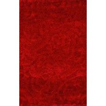 Rugsville Silky Shag Red Rug 10958 - $378.47