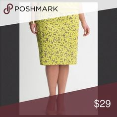 🅿️Lane Bryant Pencil Skirt 💥New Listings💥 Flattering pencil skirt plays up feminine curves with a universally-flattering silhouette and season-perfect hues. In smooth, stretch twill for a polished silhouette, it features a wide waistband to define your shape and a vented back to show a little leg. Hidden back zipper with hook & eye closure. Fully lined. Lane Bryant Skirts Pencil