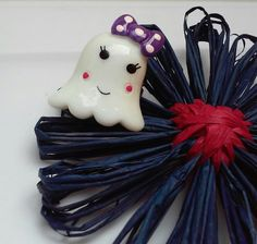 Ghost Ring Halloween Ring Costume Jewelry Fun Ring by GrammaLeas