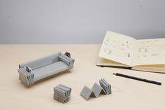 tri-folds sofa by camille paillard with ecal for de sede Three Fold, Visual Communication, Design Process, Design Art, Graphic Design, Interior Design, Industrial Design, Making Ideas, Furniture Design