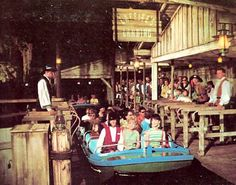 Pirates of the Caribbean opened at Disneyland on March 18, 1967