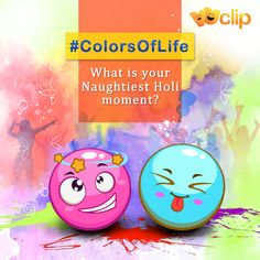 The spirit of ‪#‎Holi‬ is about letting your hair down, breaking the norms and soaking into the fervour, which gives you moments to cherish. Share those memories & relive them. VUCLIP wishes everyone a very ‪#‎HappyHoli‬!