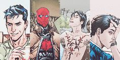 batman dc comics robin my graphics jason todd Red Hood Red Hood and The Outlaws