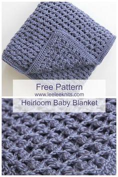 Free Heirloom Baby Blanket Crochet Pattern by denise.su