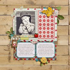 love this page also using the Apple Orchard Kit. there are so many lovely pages in the gallery for this kit!