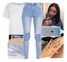 """"""""""" by l-ondonbridge ❤ liked on Polyvore featuring River Island, MICHAEL Michael Kors and Puma"""