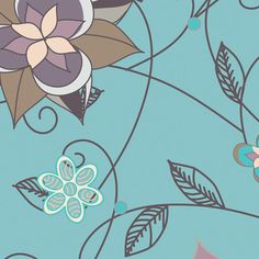 Revive Collection, Dawn Flower Fusion RE-8721   by Pat Bravo for Art Gallery Fabrics