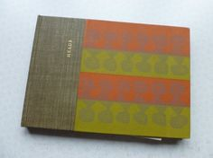 Cover of 'Heads' - a limited edition book of wood and lino prints by Joseph Low (1960)