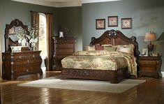 master bedroom furniture   roseville master bedroom set the roseville bedroom set offers visions ...