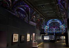 cartieroscope, 2013 video projection by antoine+manuel for cartier, le style & l'histoire exhibition at salon d'honneur du grand palais, paris