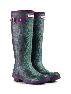 Carnaby Snake - Winter Boots for Women Designer Rain Boots, Rain Boots Fashion, Snake Boots, Hunter Rain Boots, Equestrian Style, Bootie Boots, Shoe Boot, Me Too Shoes, Footwear