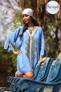 Tunic Fedala・Moroccan Blue Palace lookbook