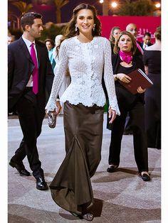 Queen Rania and Princess Ghida TalalQueen Rania