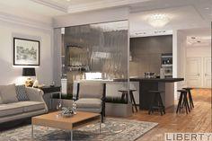 """Дизайн интерьера квартиры 0(555)290011   дизайн гостиной с нашего проекта.  Очень интересное решение от нашего дизайнера, зонирование выполнено"""" водной стенкой"""" - и пространство делит, и свет попадает и эстетика есть. Больше наших работ вы можете увидеть по хеш тегам. #дизайнинтерьераliberty #libertyдизайн #libertyгостиные ______________________________________________ #дизайнгостиной #дизайнинтерьерагостиной #дизайн #дизайнинтерьерабишкек #дизайнинтерьеравбишкеке #дизайнбишкек…"""
