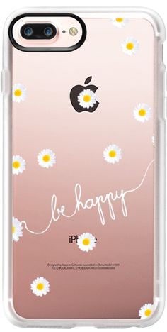 Casetify iPhone 7 Plus Case and other Daisy iPhone Covers - Happy Daisy by Monika Strigel | Casetify