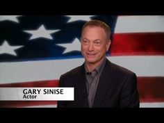 What a SUPER DEDICATED guy he is !! Gary Sinise honors veterans year long