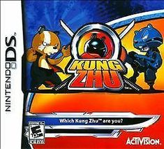 Fast-paced action erupts from your fingertips with Kung Zhu for Nintendo DS. Featuring your favorite punching-and-kicking Kung Zhu hamsters this game combines humor and thrills for hours of fun. Kung Zhu Pre-Owned Nintendo DS Ds Games, Games To Play, Wii, Videogames, Xbox, Zhu Zhu, The Wild Bunch, Ninja Warrior, Nintendo Ds