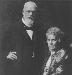 Maria Theresa of Austria-Este, (1849–1919) with her husband Ludwig III, the last King of Baviera, (1845 – 1921)