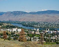 The City Of Kamloops in Kamloops, BC - another place we stop along the way. I love how the terrain changes here suddenly O Canada, Canada Travel, Canada Trip, Best Places To Travel, Places To Visit, Immigration Canada, Vancouver City, Western Canada, British Columbia
