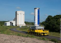 The first stage of the Vega rocket that will loft IXV was moved to the launch pad on 18 September 2014, marking the beginning of the campaign for Vega's fourth flight, planned for mid-November.