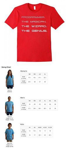 Mens Funny Programmer T-shirt- Computer Geek Gift Medium Red