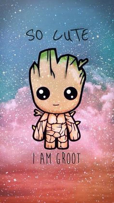 Check out this awesome post: Imagenes Groot kawaii- # post . Check out this awesome post: Imagenes Groot kawaii- # post Disney Phone Wallpaper, Cartoon Wallpaper Iphone, Cute Wallpaper Backgrounds, Cute Cartoon Wallpapers, Galaxy Wallpaper, Phone Backgrounds, Simple Wallpapers, Kawaii Wallpaper, Phone Wallpapers