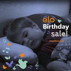 """elo, My Storytime Pillow, turns 1, and is Now on Sale! elo helps keep toddlers and kids in bed by playing stories followed by nature sounds. """"Magic"""" """"Amazing"""" """"How did I live without this?"""""""