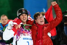 Bilodeau compelled our nation with his inspiring story of determination, and his personal story of the incredible support around him, including his ever smiling brother Frédéric, born with cerebral palsy (a condition that involves impaired muscle coordination and other disabilities, typically caused by damage to the brain before/at birth). His love for his brother, and his love for skiing enable him to perform successfully.