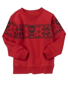 Bone to be merry! Awesome graphics on a fuzzy warm fleece layer. Not a sweater guy but this is awesome!!