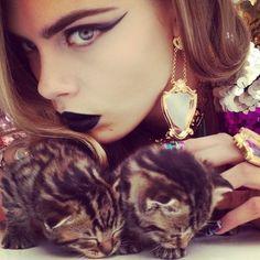 Pussycat, Pussycat,  From Nick Knight @ Showstudio.com,    Model: Cara Delevingne