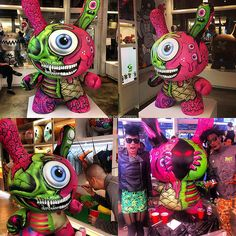 Custom Dunny by L'AMOUR Supreme x Buff Monster