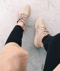 "our good friend @samelise26 rockin' the new Yeezy Boost 350 ""Oxford Tan"" colorway #highendz #allday #yeezytalkworldwide"