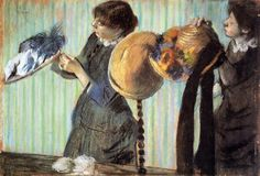 The Athenaeum - The Little Milliners (Edgar Degas - 1882)