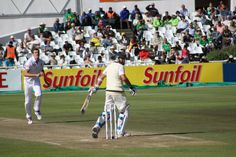 Morne Morkel gets Ryan Harris caught behind during the Newlands test match in 2011. Photo taken by Tim Dale Lace