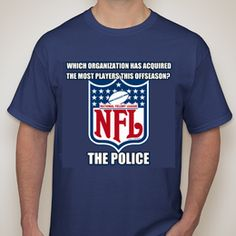 National Felony League T-Shirt