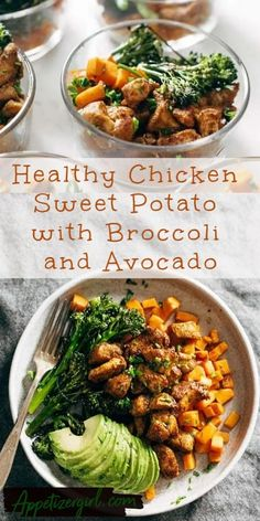 Healthy Chicken and Sweet Potato Recipe – Appetizer Girl