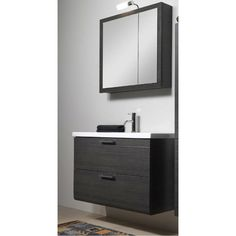 "Iotti by Nameeks Luna 39"" Single Bathroom Vanity Set with Mirror | AllModern"