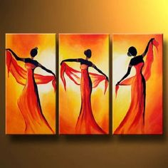 how wonderful painting hang in your living room