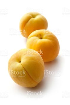 Fruit: Apricots Isolated on White Background royalty-free stock photo