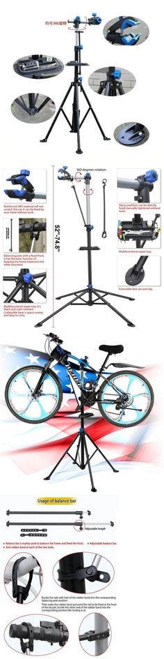 Workstands 177847: Bike Cycle Bicycle Maintenance Repair Stand Mechanic Adjustable Workstand Rack Y -> BUY IT NOW ONLY: $42.35 on eBay!